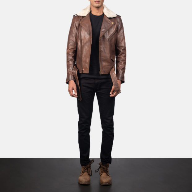 модные мужские кожаные куртки 2022