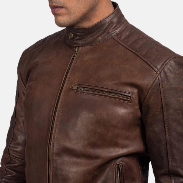 модные мужские кожаные куртки 2021