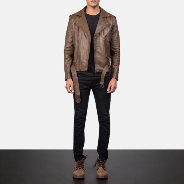 мужские кожаные куртки 2023