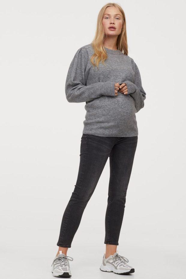 мода для беременных 2021