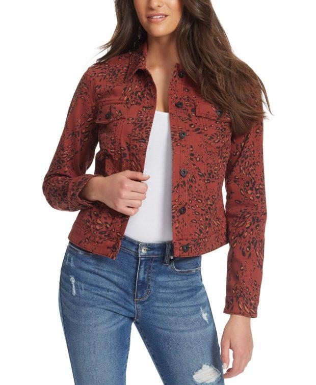 модные женские джинсовые куртки 2022