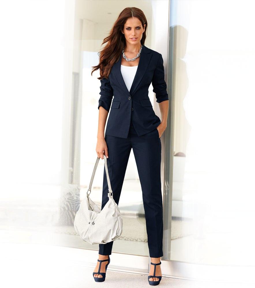 Деловой женский костюм фото мода
